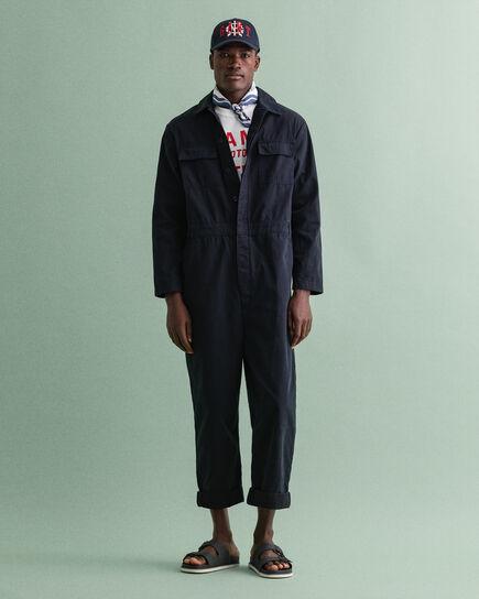 Tuta jumpsuit in cotone