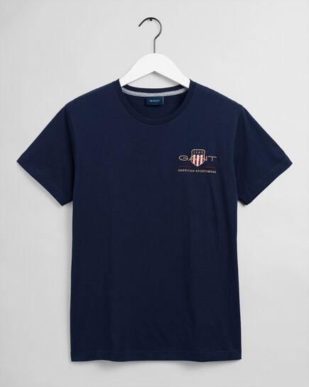 T-shirt Archive Shield con ricamo