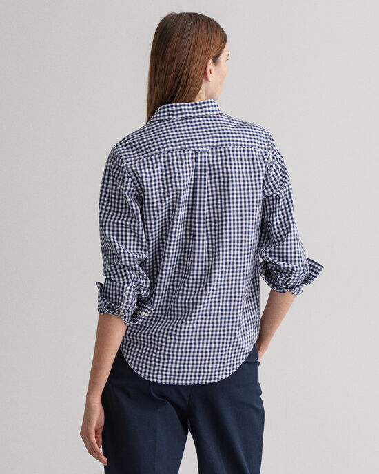Camicia in broadcloth percalle