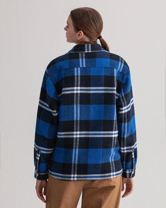 Camicia giacca a scacchi