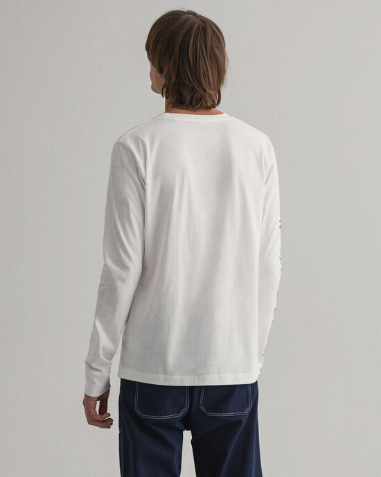 T-shirt Nautical a maniche lunghe