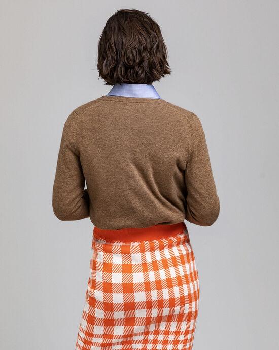 Cardigan in lana d'agnello super fine