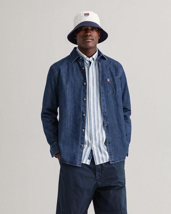 Camicia di jeans Retro Shield regular fit