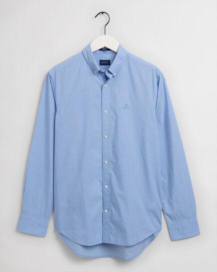 Camicia con struttura a pois regular fit
