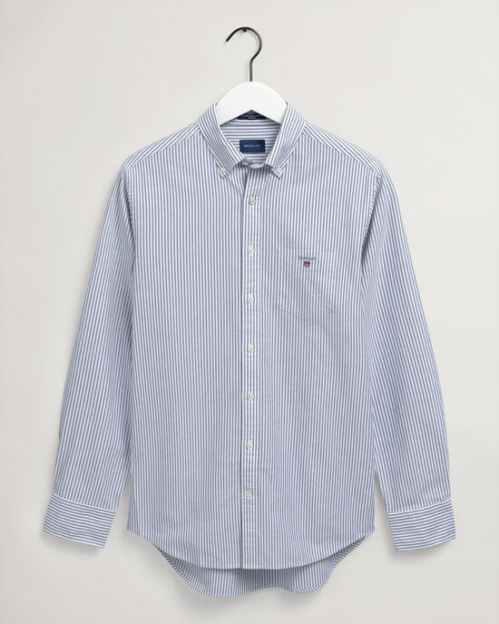 Camicia Oxford a righe Banker regular fit