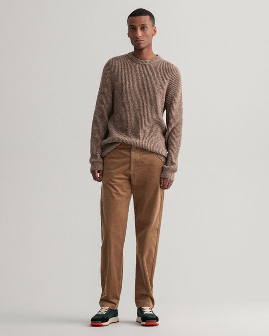 Pantaloni chino in velluto a coste Allister regular fit