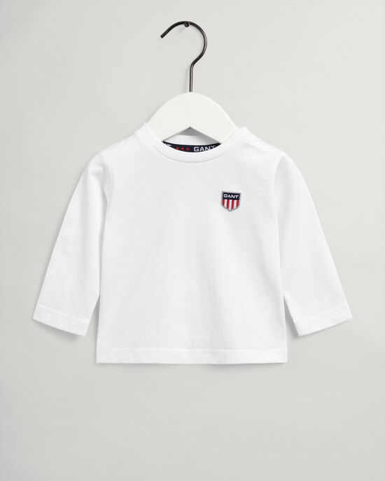 T-shirt Retro Shield a maniche lunghe baby boy