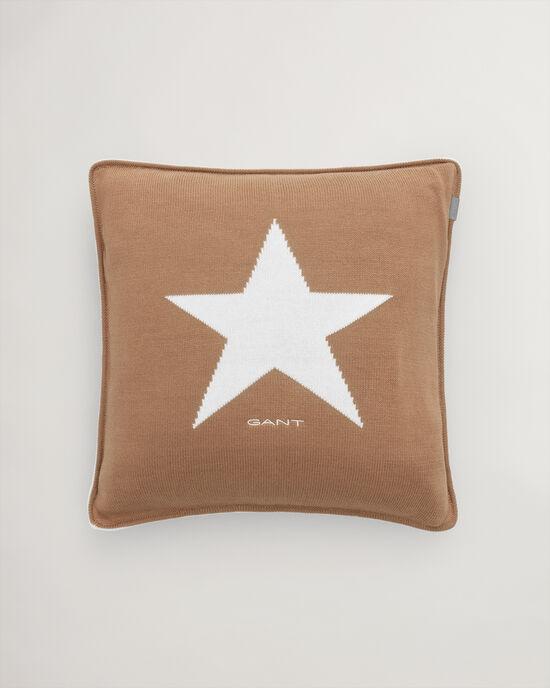 Copricuscino Star in maglia