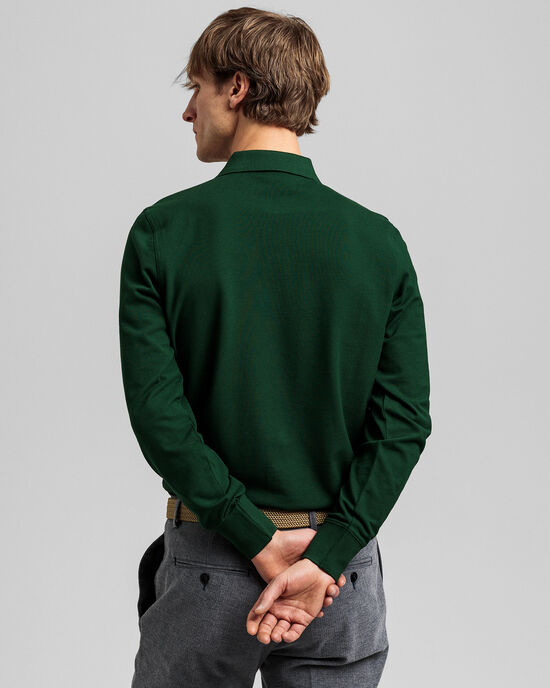 Polo in piqué Original a maniche lunghe