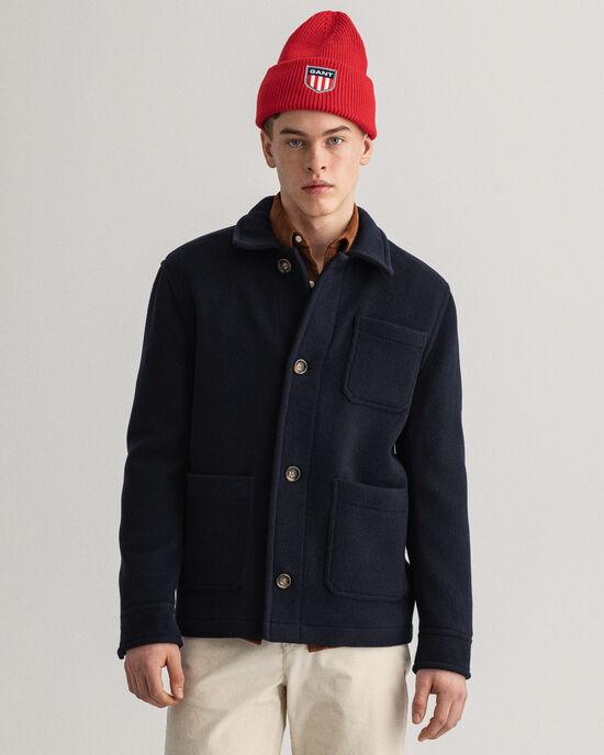 Giacca in lana corta